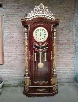 jam hias jati model sekarang 021