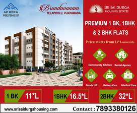 Premium 2BHK Flats vth 0% DOWNPAYMENT & 2.67L PMAY Subsdy @ GANNAVARAM