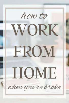 USE your free time WORK FROM HOME! Earn massive capital everymonth up