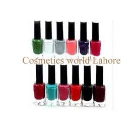Pack of 12 nail paint fot women  only 699/-  Best Quality  Long Lastin