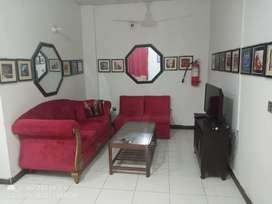 Good Furnished Apartment With Lift In DHA!! Economical Price..