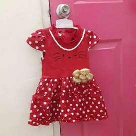 Dress anak umur 2-3thn