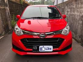 PROMO DP MINIM ! Daihatsu Sigra tipe X 1.200cc Manual 2017 Merah Solid