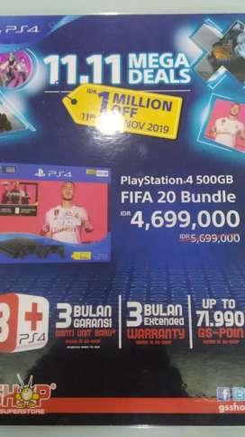 Kredit Playstation 4 FIFA 20 Bundle