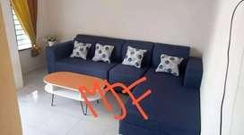 Sofa L minimalis custom made