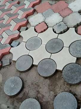 Tuff tile and building materials