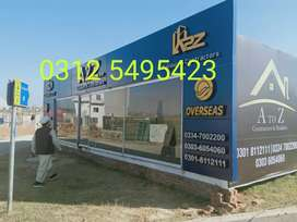 Container office, Porta cabin store container prefab room carwan secur