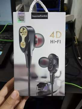 earphone/handsfree/headset-jbl at108-ada karet-bs tlp-bagus