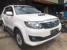 Toyota fortuner G diesel tahun 2013 vnt automatic istimewa sekali