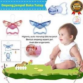 New Model! Dot Empeng Bayi Bentuk Jempol Buka Tutup Ergonomis Nipple B