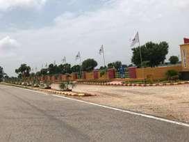 Plots on 250 road Mahindra sez