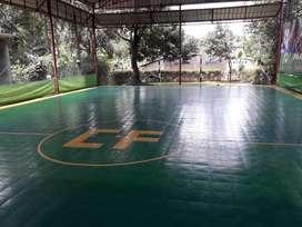 Dijual 1 Lapangan Futsal Matras Interlock di Kp. Ciater Rawakalong