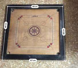 Tournament Carrom board with coins[Used]