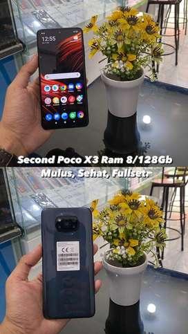 Xiaomi Poco X3 Ram 8/128GB Mulus Fullset