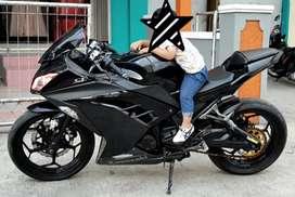 Ninja 250 Istimewa Hitam Kawasaki DIJUAL CEPAT