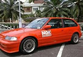 Honda Civic Nouva 2 pintu th 1989 (surat akur pajak panjang)