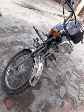 Dhoom 70cc bike 2010 in new condition