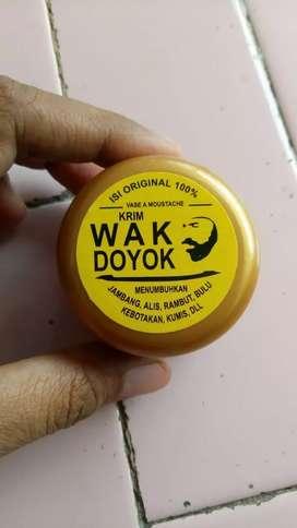 Wak doyok, original kemasan sample, ready stok bisa langsung toko