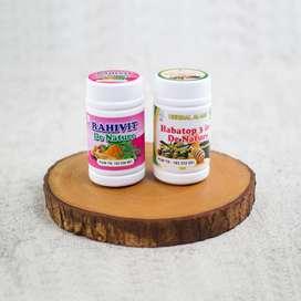Suplemen Herbal Program Hamil Rahivit Habatop 3 In 1 De Nature