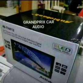 head unit double din tv usb radio touchscrean layar 7inch audio bank