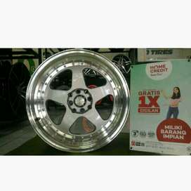modif velg racing yaris city vios grand livina ring 17 celong