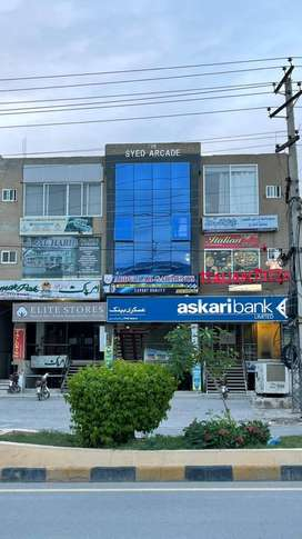 1 Kanal Commercial Plaza on PWD Main Road for Sale