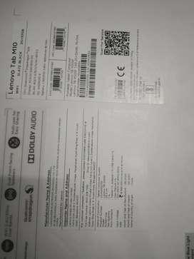 TabM10HD Lenovo TB-X505F TAB 2G+32GBL-IN-Ons