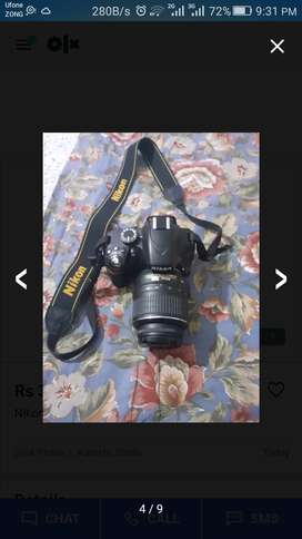 D3200 wd 18 55mm Good Condition