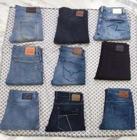 Genuine Levi's Benetton pepe jeans spykar and many Brands available