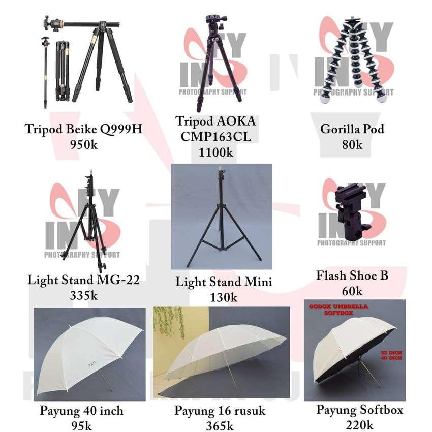 Jual OBRAL berbagai perlengkapan kamera profesional
