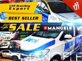 MANGELE Sticker Car Branding Mobil Bandung Pasang Stiker Keren Awet
