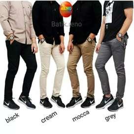 Celana Chinos Pants Panjang Pria Size 27-45