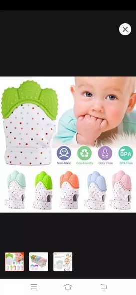 Baby Teether Gloves.