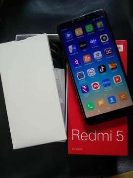 Redmi 5 3gb ram 32gb internal
