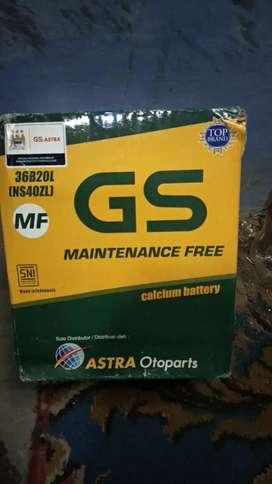 Dijual aki kering GS untuk Jazz