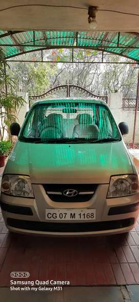 Well Maintained Santro - single handed driven