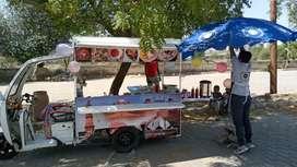 Food Cart on Erickshaw