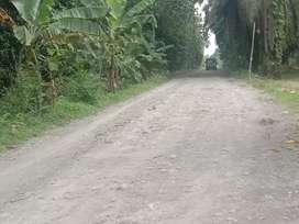 Jual cepat tanah ukuran 24 x 177 m,  Rp120/M Nego