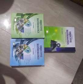 R. D sharma objective mathematics vol 1, 2, solutions (3 books)