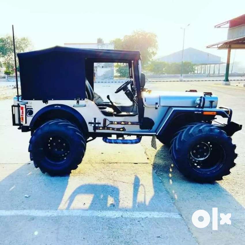 Rahul jeep modified-All modified jeeps order Base ready