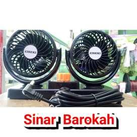 Kipas Angin Mobil 12V & 24V / Twin-Car Fan