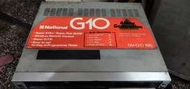 VCR MODEL NATIONAL G10 RUNNING CONDITION
