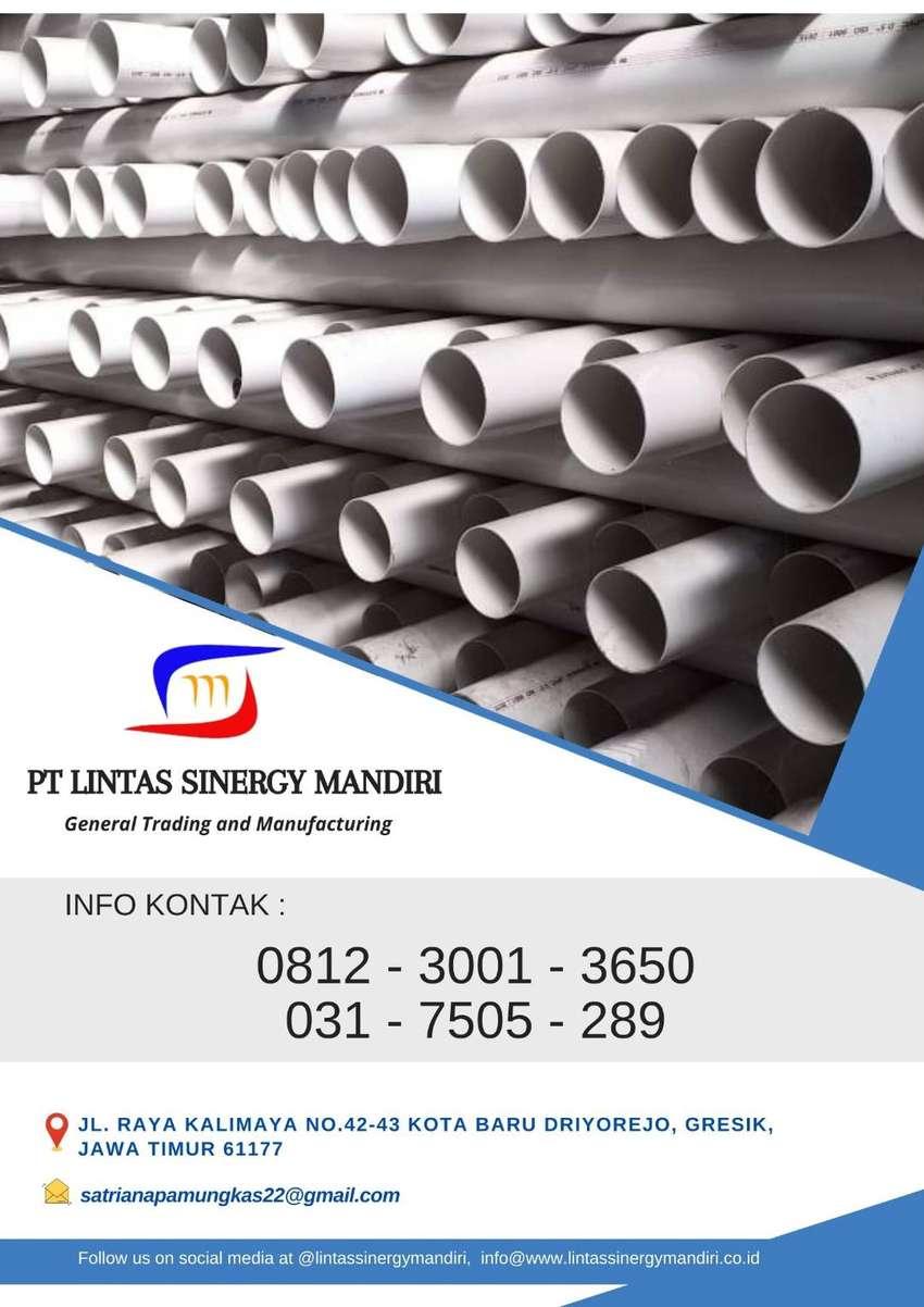 PIPA PVC/PARALON MASPION TIPE AW D C 3/4 MURAH READY LENGKAP