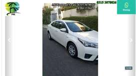 Corolla get on very easy monthly installments
