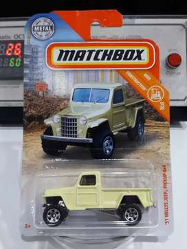 Matchbox mbx 51' willys jeep pickup 4×4