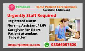 Nursing Jobs  / Medical Jobs / Patient Attendant