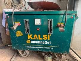 Double holder welding set machine made by Kalsi