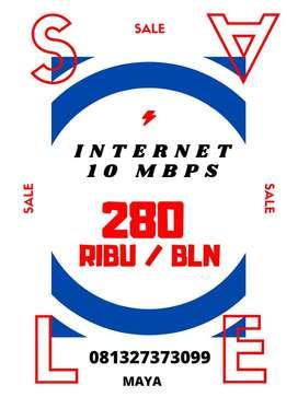 Promo 10 mbps. Langsung Pasang
