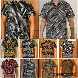 kemeja pria batik motip best seller