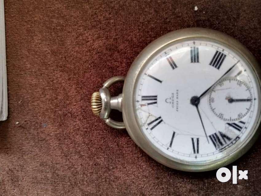 Omega pocket watch silver 0